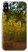 Hobcaw Barony Pond IPhone Case