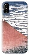 Hokusai: Fuji IPhone Case