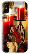 Holiday Candles Hcp IPhone Case