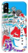 Holiday Dip IPhone Case