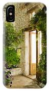 Home Entrance And Courtyard IPhone Case
