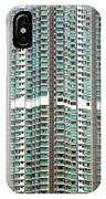 Hong Kong Residential Building IPhone Case