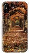 Hornbeam Alles, Birr Castle, Co Offaly IPhone Case