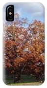 Horse Barn Hill In Autumn IPhone Case
