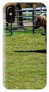 Horse Jump IPhone Case