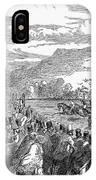 Horse Racing, 1850 IPhone Case