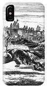 Horse Racing, 1857 IPhone Case