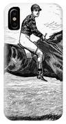 Horse Racing, 1880s IPhone Case