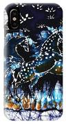 Horses Frolic On A Starlit Night IPhone Case
