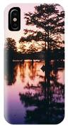 Horseshoe Lake At Dusk IPhone Case