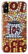 Hot Coffee 10cents IPhone Case