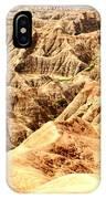 Badlands Of South Dakota IPhone Case