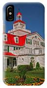 Hotel Tadoussac ... IPhone Case