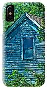 House In The Woods Art IPhone Case