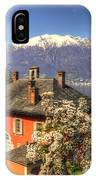 House On The Lake Front IPhone Case