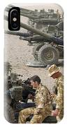 Howitzer 105mm Light Guns Are Lined IPhone Case