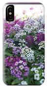 Hues Of Purple Phlox IPhone Case