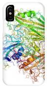 Human Rhinovirus Capsid Proteins IPhone Case