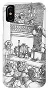 Humphrey Davy Lecturing, 1809 IPhone Case