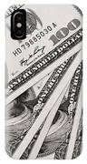 Hundred Dollar Bills IPhone Case