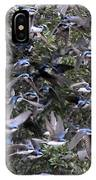 Hundreds - Tree Swallows IPhone Case