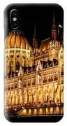 Hungarian Parliament Building IPhone Case