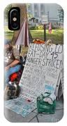 Hunger Strike IPhone Case