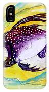 Hurricane Fish 7 IPhone Case