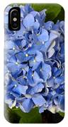 Blue Hydrangea IPhone Case