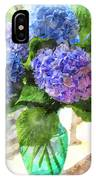 Hydrangeas In The Sun IPhone Case