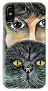 Hypnotic Cat Eyes IPhone Case
