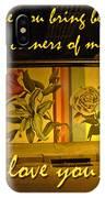I Love You Night Graffiti Greeting Card IPhone Case