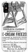Ice Cream Freezer, 1872 IPhone Case