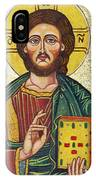 Icon Of Jesus As Christ Pantocrator IPhone Case