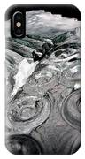 Icy Climb To The Christmas Tree IPhone Case