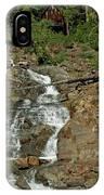 Icy Water Falls Glen Alpine Falls IPhone Case