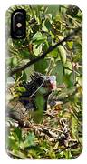 Iguana Hiding In The Bushes IPhone Case