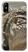 Iguana Two IPhone Case