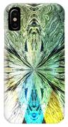 Illumination Of The Glass Butterfly IPhone Case