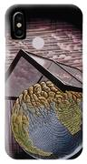 Illustration Of The Greenhouse Effect IPhone Case