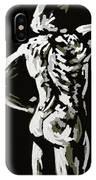 Imaginative Figure Drawing IPhone Case