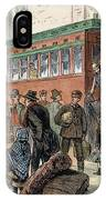 Immigrants, Nyc, 1880 IPhone Case
