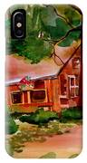 In A Cottage In The Woods IPhone Case