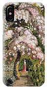 In A Shoreham Garden IPhone Case