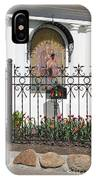In Front Of Church IPhone Case