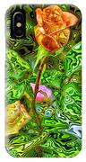 In The Garden Of Dreams IPhone Case