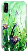 In The Garden V IPhone Case