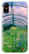 In The Greenhouse IPhone Case
