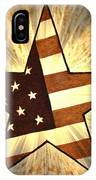 Independence Day Stary American Flag IPhone Case