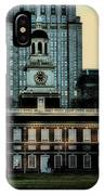 Independence Hall - The Cradle Of Liberty IPhone Case